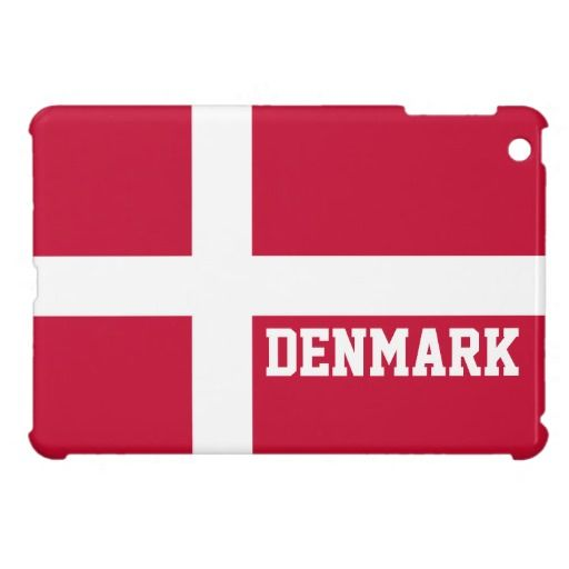 Denmark Mini IPad Case Cases Flags New Stuff On Zazzle - Denmark flags