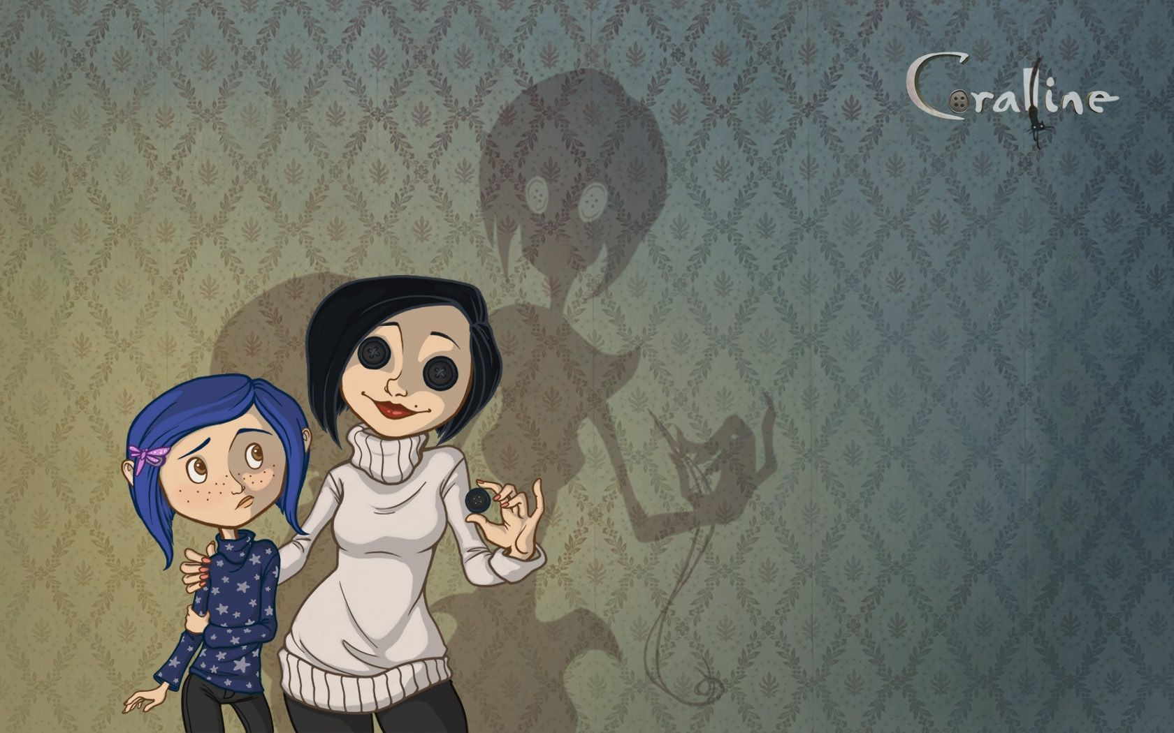 Coraline Wallpaper Hd 1680x1050 469775 Coraline Coraline Art Tim Burton Art