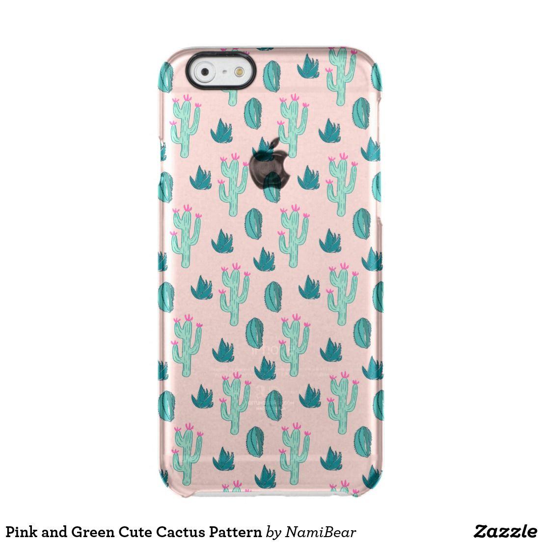 Cactus Cute Art Pattern iphone case