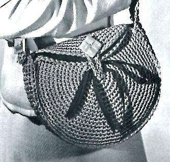 bag crochet pattern | Vintage Crafts and More