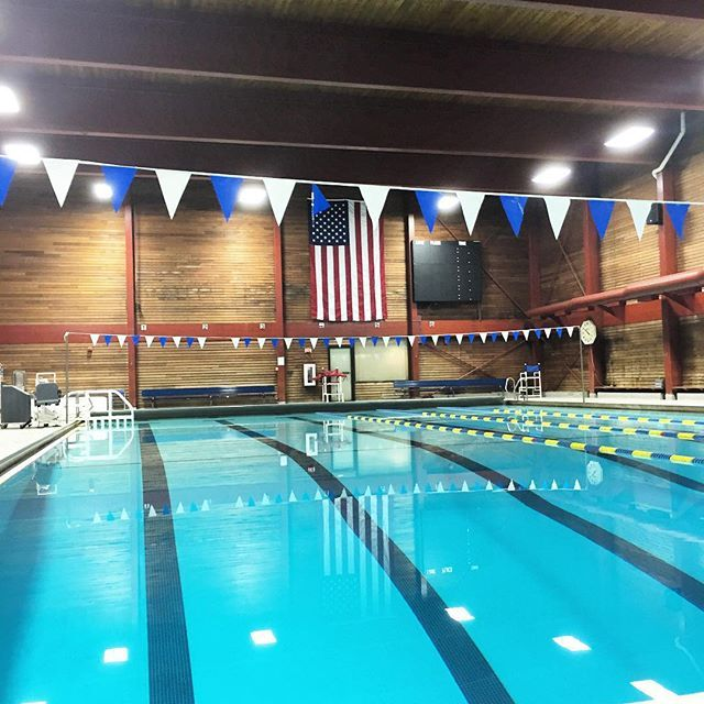 Thanks To Our Newly Installed Lights The Pool Is Now Brighter Than Ever So Take A Break And Come Take A Swim Snhu Recreation Snhu Penmen Pride Outdo