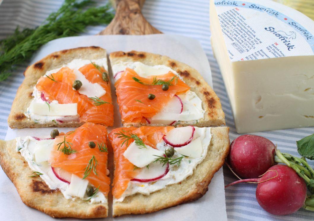 Nordic Flatbread Pizza