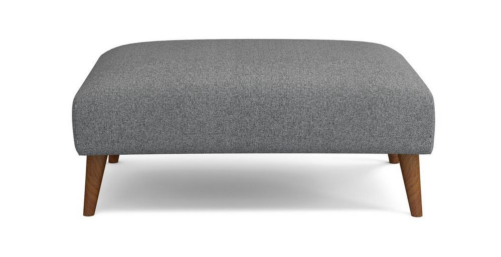 Zinc Plain Large Footstool Dfs Large Footstools Dfs Zinc Sofa
