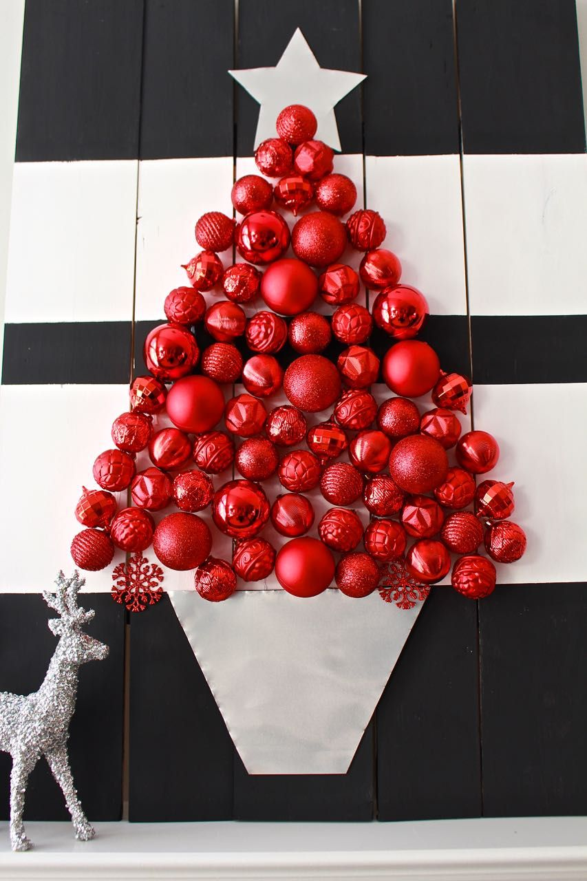 Holiday ornament display home depot virtual party pinterest diy christmas tree with ornaments holiday ornament display home depot virtual party solutioingenieria Image collections