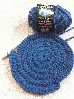 Stargazun Designs Easy Round Thick Crochet Rug Pattern Beginner Tutorial