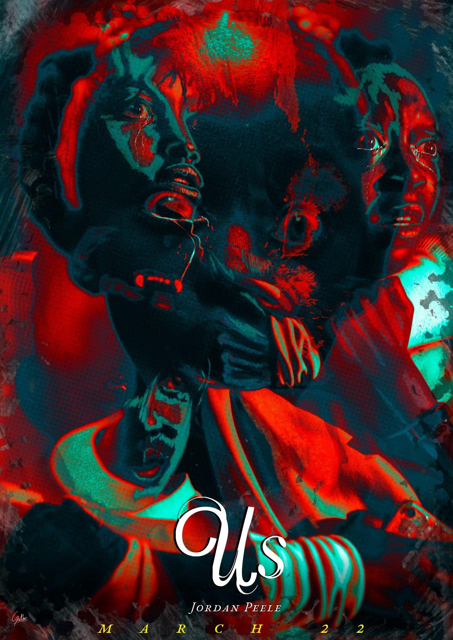 Us 2019 1500 X 2121 Horror Movie Art Horror Artwork Horror Posters