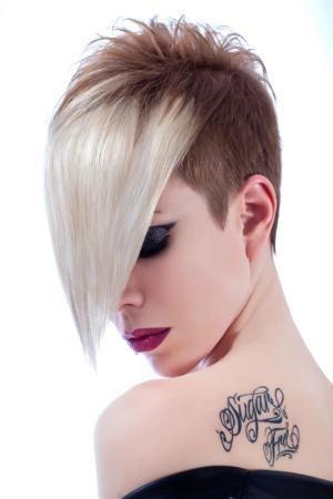 Terrific Womens Hairstyles Long In Front Short In Back Style Wu Hair Short Hairstyles Gunalazisus