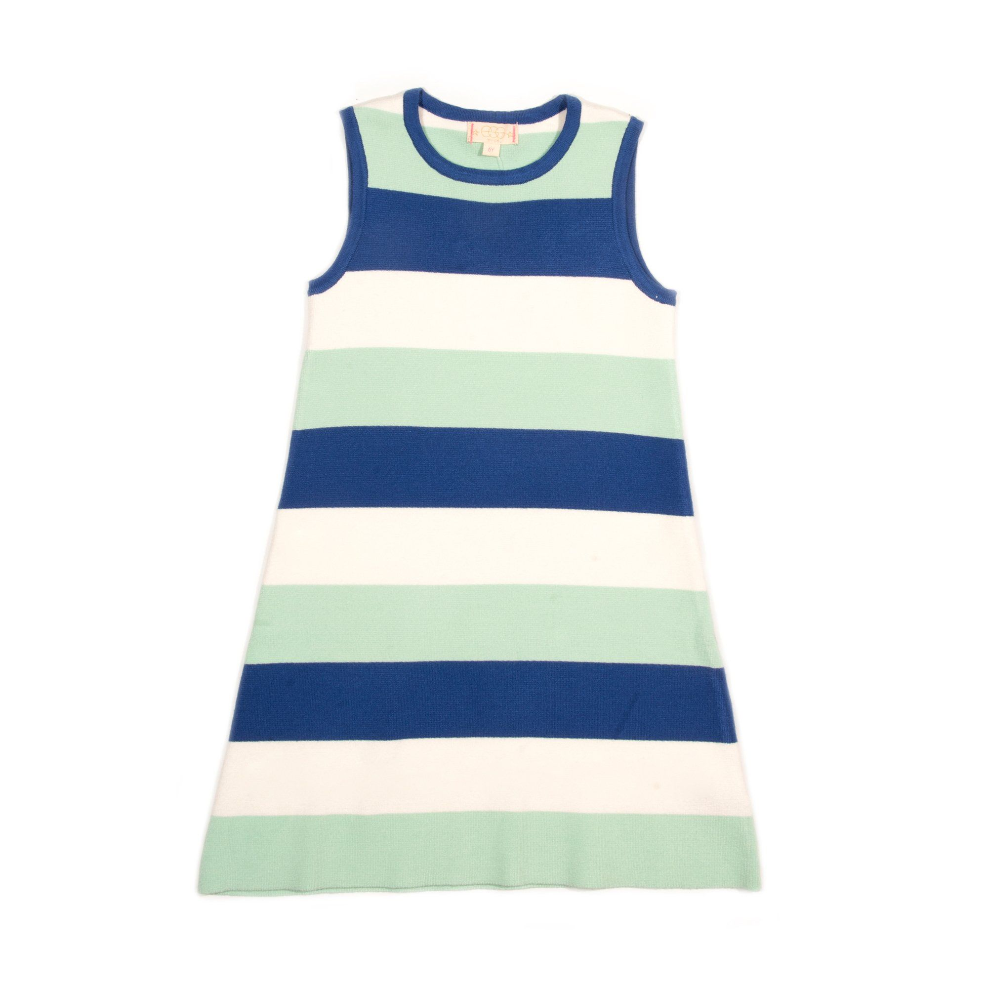 Tori Sweater Dress - Blue / 14Y