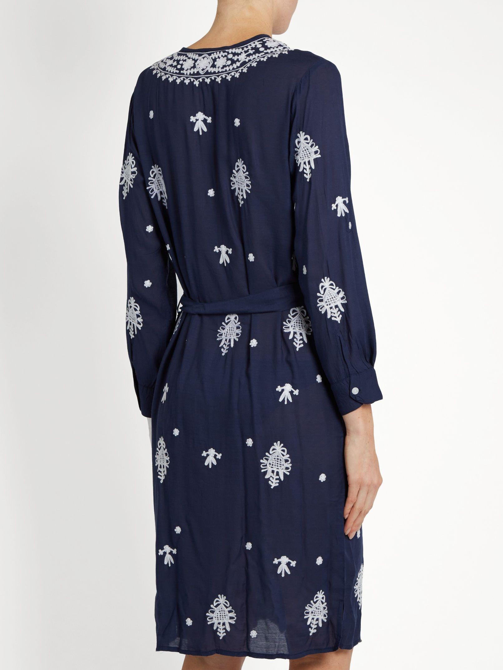 Fleur embroidered dress Melissa Odabash QLCEk
