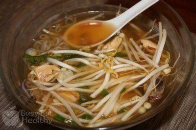 """Vietnamese """"Miracle Noodle"""" Soup"""