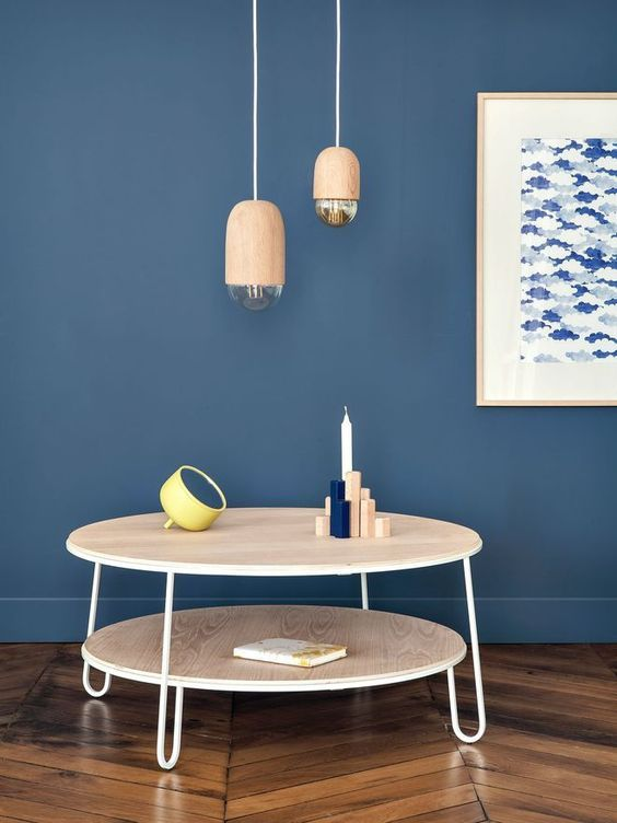 Le bleu marine dans la décoration blog deco design clem around the corner