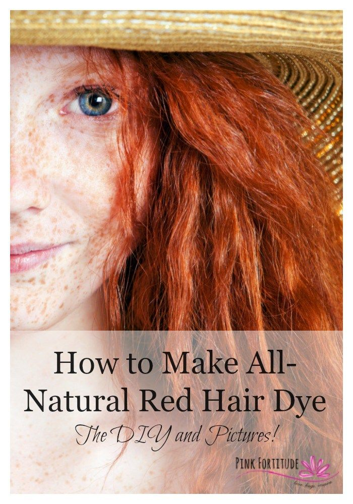How To Make All Natural Red Hair Dye The Diy And Pictures Hair