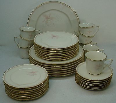NORITAKE china IMPERIAL BLOSSOM 7294 pattern 40-piece SET SERVICE for Eight (8) in Pottery & Glass, Pottery & China, China & Dinnerware | eBay