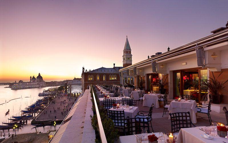 Restaurant Terrazza Danieli Venice Italy Hotels Luxury