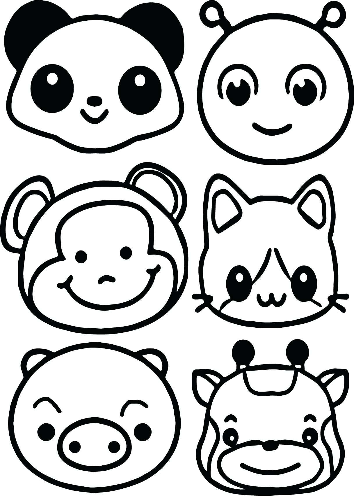 Animal Faces For Coloring Bunny Coloring Pages Monkey Coloring Pages Kitty Coloring