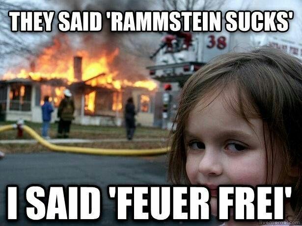 Funny Rock Music Meme : Rammstein rock metals heavy metal and rock