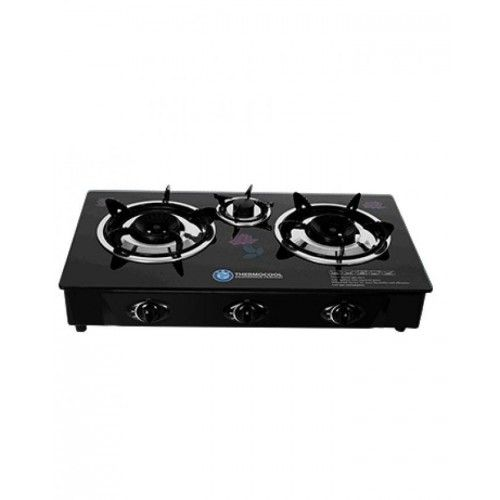 Haier Thermocool Gas Cooker 3 Hob Glass Top Table Gas Cooker Glass Top Table Hobs