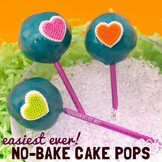 So easy These nobake cake pops are brilliant The perfect solution