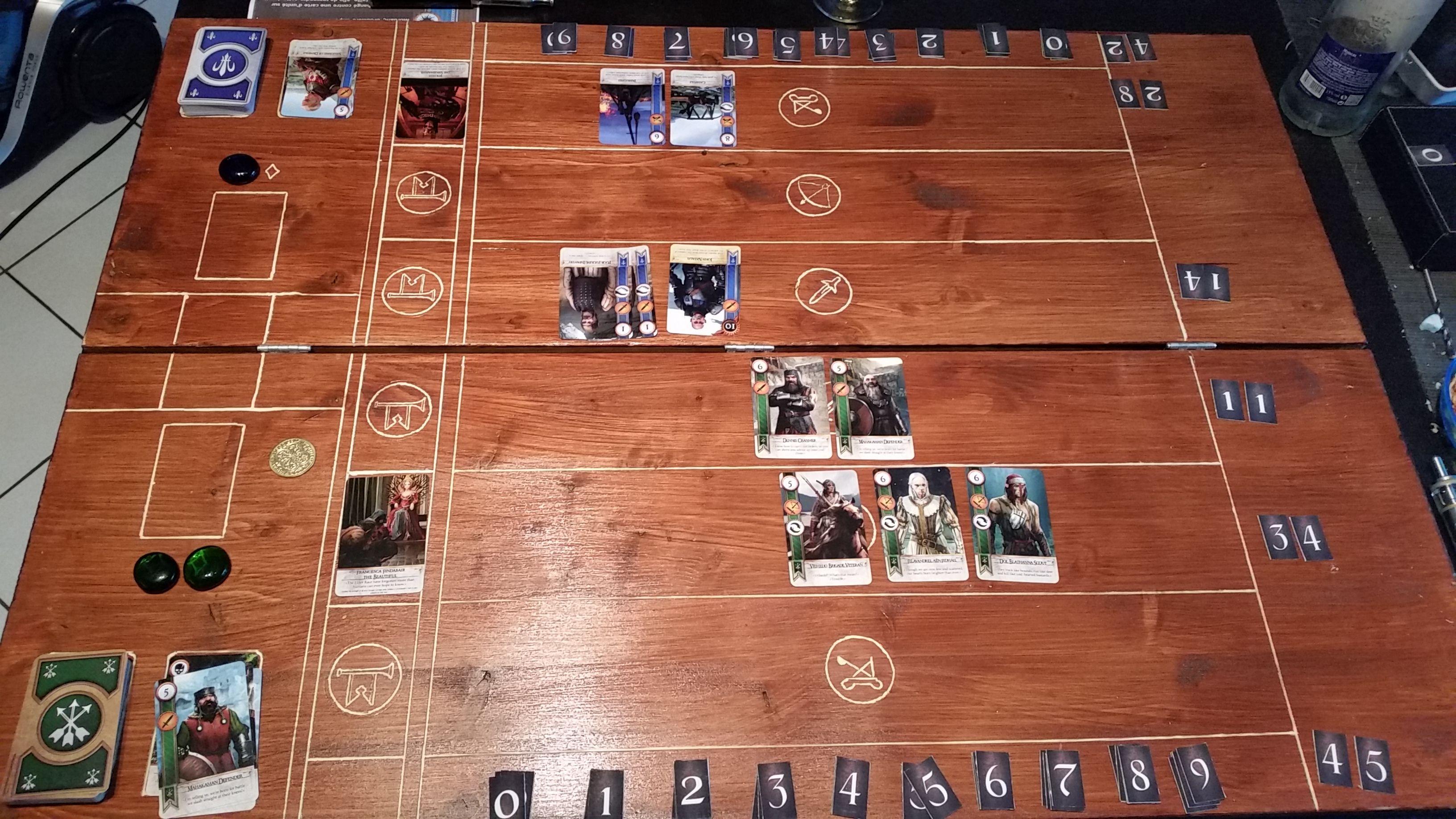 gwynt jeu de carte Gwynt   jeu de cartes Witcher 3 en DIY [Terminé] | Jeu de cartes