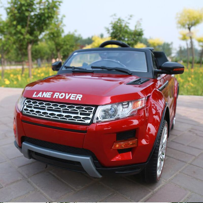 Features Long Range 2 4ghz Parental Remote Control Push Button Start Forward Reverse Switch High Low Speed Switch Lights Land Rover Electricity Kids Songs