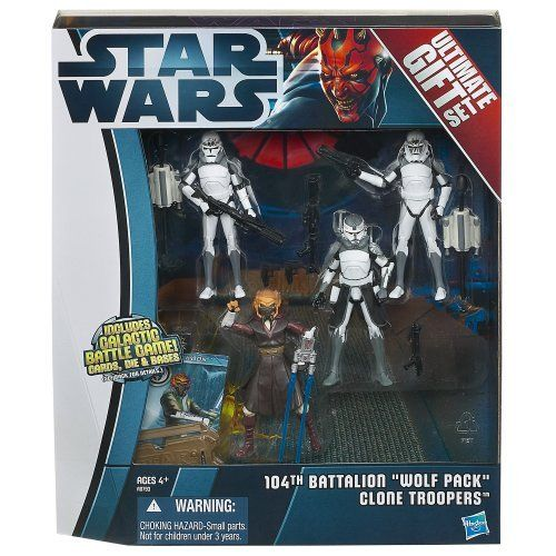 "Star Wars 104th Battalion ""Wolf Pack"" Clone Troopers Ultimate Gift Set by Star Wars, http://www.amazon.com/dp/B0085ULMOU/ref=cm_sw_r_pi_dp_kyL3qb0Z6Z4KE"
