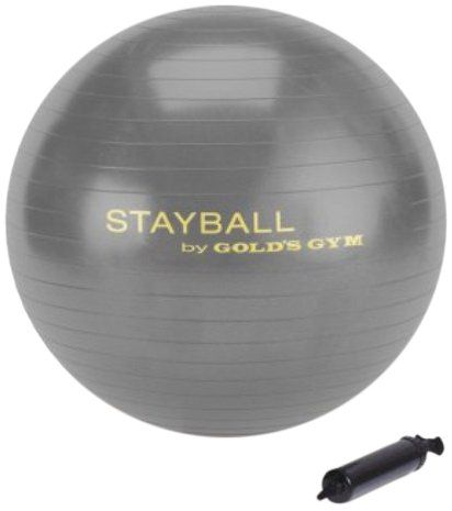 Gold S Gym 75 Cm Stay Ball Gym Fitness Tracker Physical Fitness