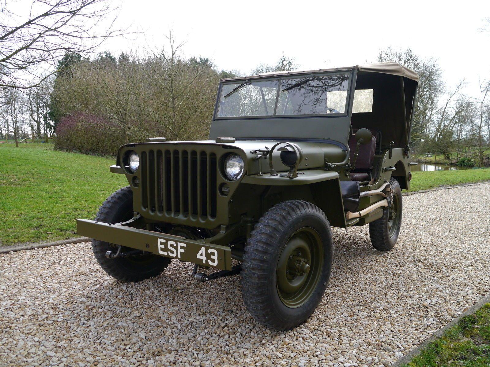 1943 Willys JEEP1 5 HP | eBay
