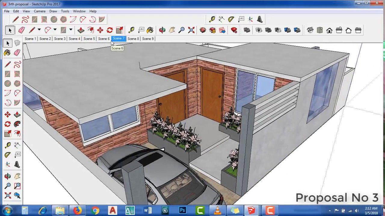 10 Marla House Main Entrance Design Architecture Design Sketchup