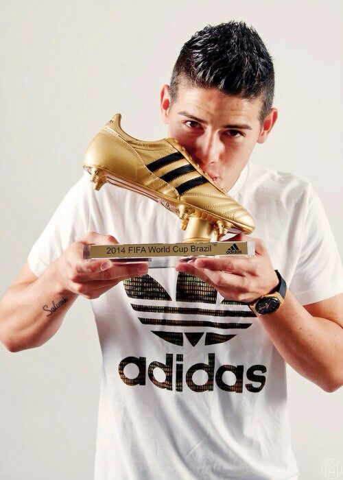 James With His Golden Boot James Rodriguez James Rodriguez Colombia Futbol