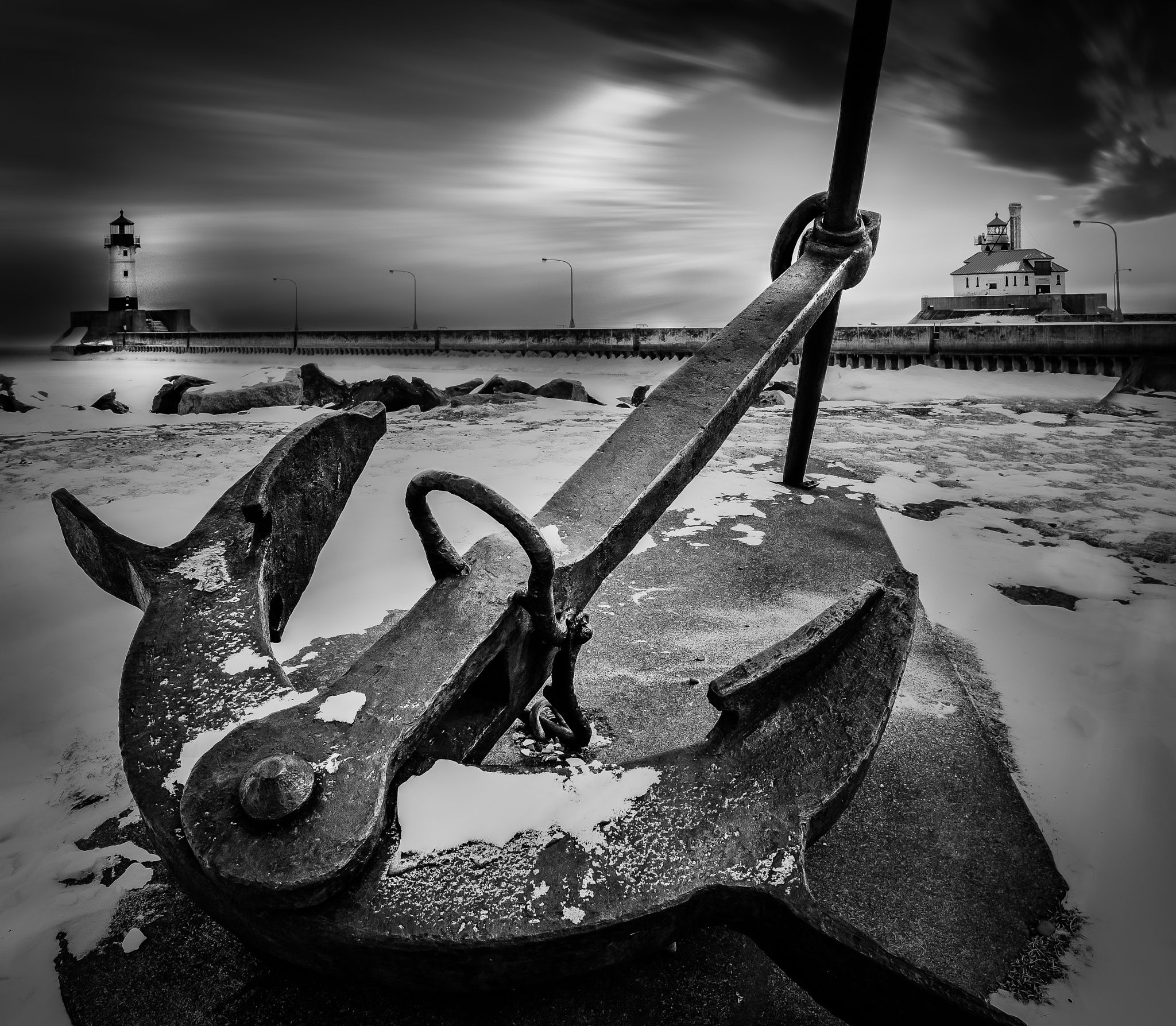The Anchor Point Anchor Pictures Black And White Photographs Black And White Photography