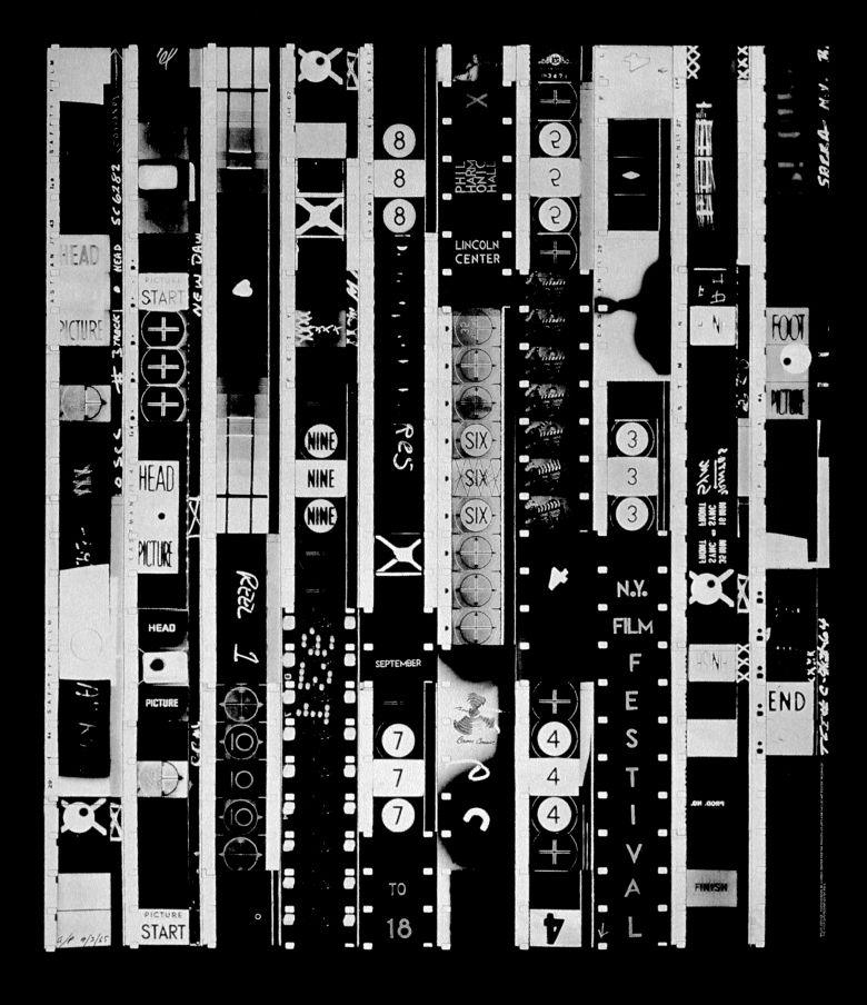 10 Film Strips Ten Second Film (1965) by Bruce Conner moments in