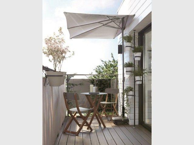 petit balcon dix am nagements gain de place projets essayer balcon d coration balcon et. Black Bedroom Furniture Sets. Home Design Ideas