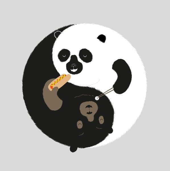 Explore Panda Tattoos Funny Illustration And More