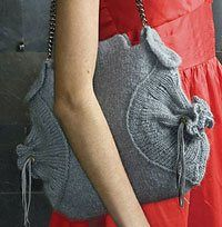 felted bag from Boutique Knits
