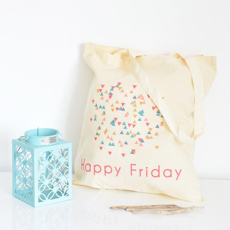 Petite Mila | Tote bag Happy Friday