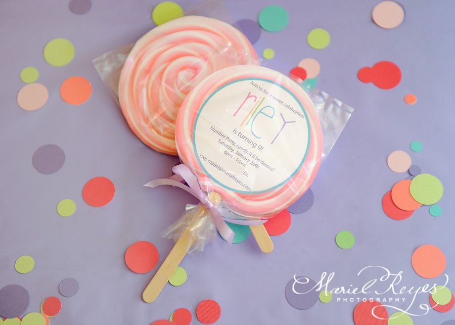 Free download lollipop invitation-- Mariel Reyes Photography ...