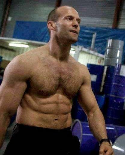 男も惚れるジェイソンステイサムのかっこいい筋肉