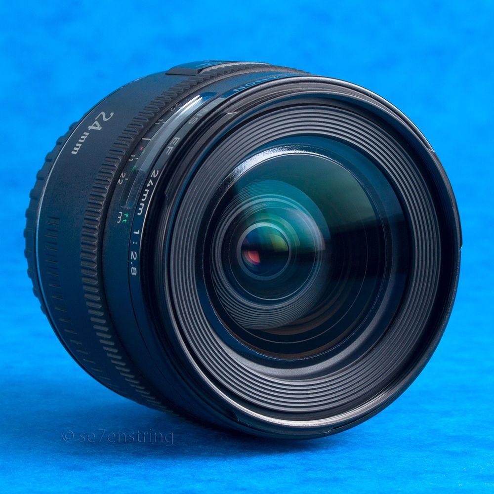 Canon Ef 24mm F2 8 Wide Angle Prime Lens Eos Film Digital Full Frame Af Prime Lens Wide Angle Vintage Lenses