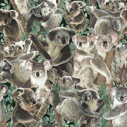 Fabriquilt Living Wonders Koala Bears