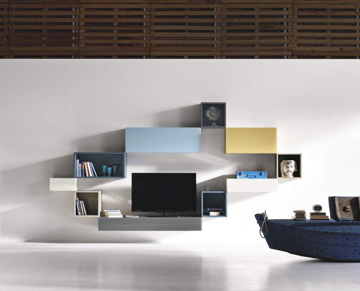 36e8side Ke Tv Pinterest Tv Unit Shelving And Interiors # Compo Murale Tv