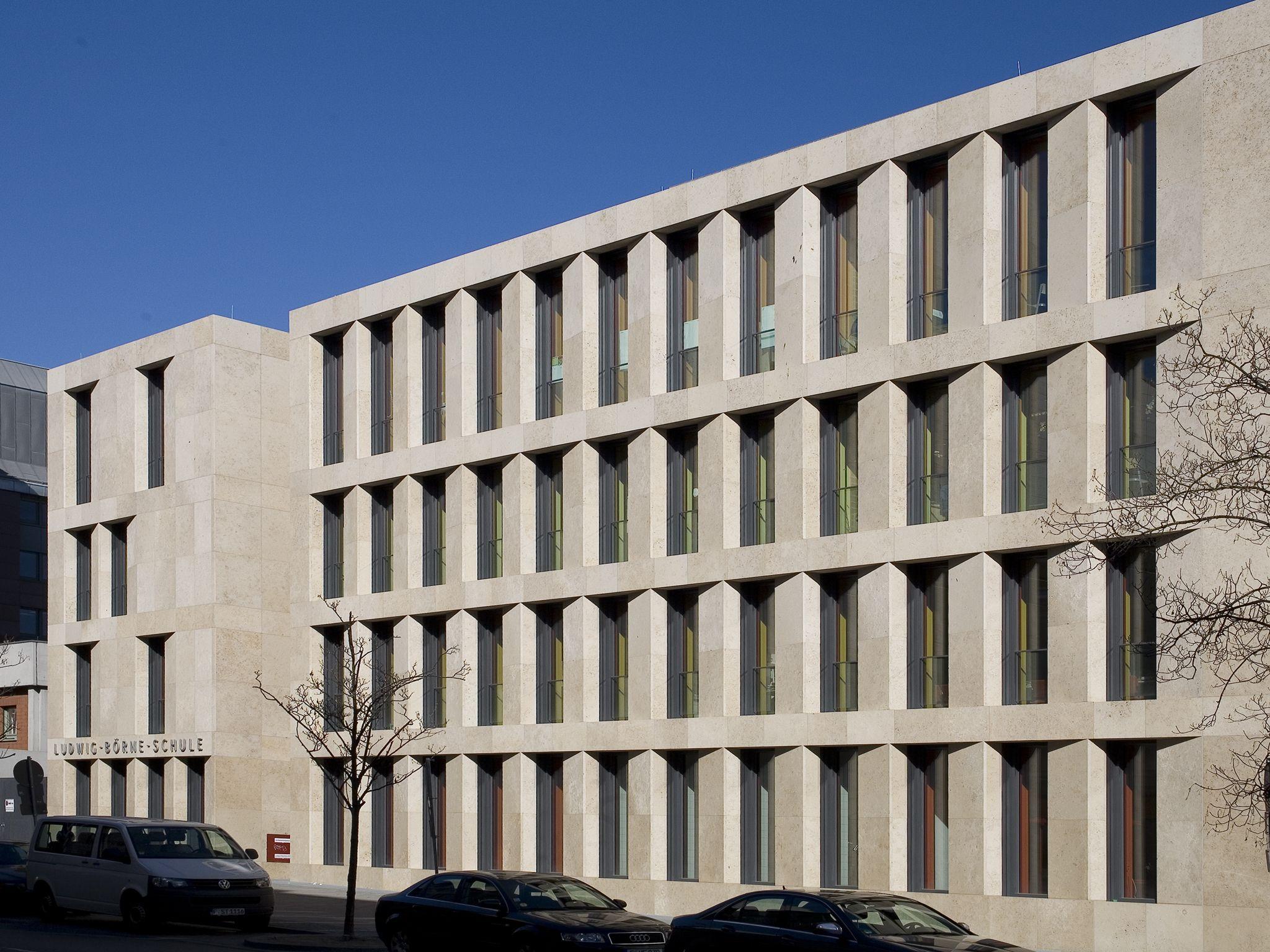 Architekten In Frankfurt ludwig börne schule frankfurt dbn dierks blume nasedy