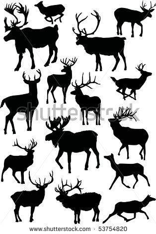 deer silhouette tattoo deer silhouette tattoo 115jpg