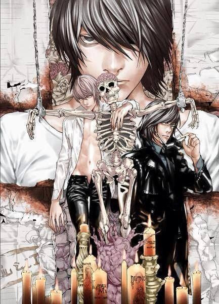 Death Note / yes can I be the skeleton