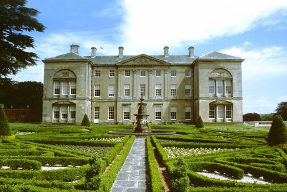 Sledmere knot garden | Stately Homes and Gardens in 2019 | House