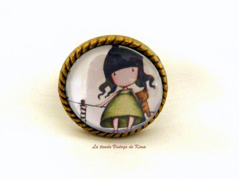 Anillo muñeca Gorjuss REF.11 de La Tienda Vintage de Kima por DaWanda.com