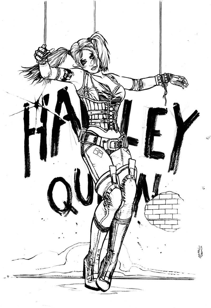 Harley Quinn Kleurplaten.Pin On Harley Quinn
