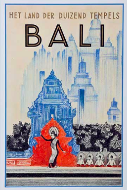 Classic Bali Travel Posters The Yak On Art Art Travel Posters