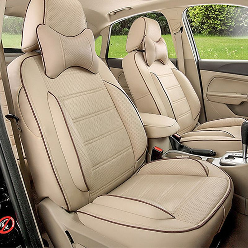 FrontRear Cover Seats Fit For Toyota Fortuner Car Seat Protector