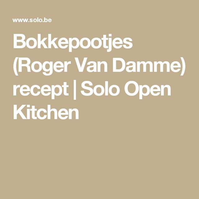 Bokkepootjes (Roger Van Damme) recept | Solo Open Kitchen