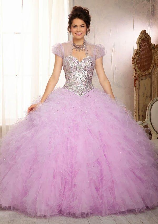 Grandiosos vestidos de Quinceanera   Coleccion Vizcaya 2014 ...
